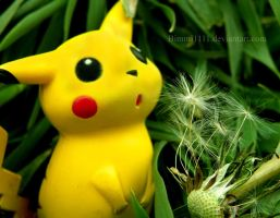 Make a wish, Pikachu! by Bimmi1111