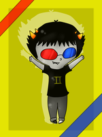 Chibi Sollux by VanessaGiratina