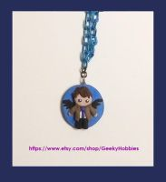 Castiel Charm by Sugar-Bolt