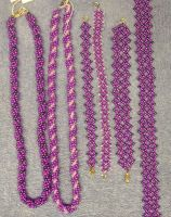 Purple beadwork by ladytech