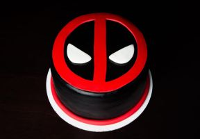 DEADPOOL Cake by KayleyMackay