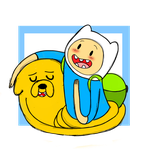 Finn and Jake: I love yah Buddy! by Mad-Hattress-Ari