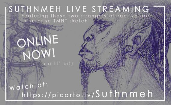 Livestream Heads Up by suthnmeh