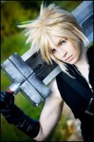 FFVII:AC- Soldier portrait by love-squad