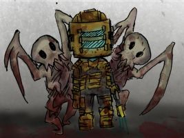 Chibi Dead Space ftw by MissDeadEnd