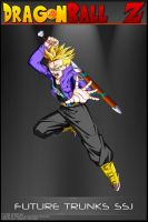 Dragon Ball Z - Trunks SSJ VSA by DBCProject