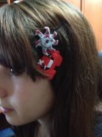 Super Meat Boy Hairpins by Minto-sama