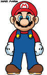 Super Mario Standard - Orthographic by Grimklok