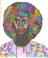Jimi Hendrix in living color by Buhla