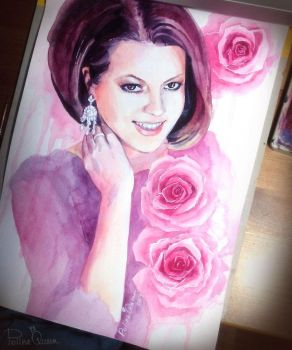 Portrait of Rose by PolinaQueen