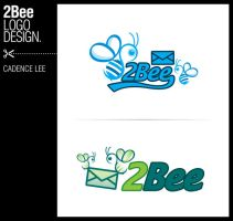 2bee logo design by iamcadence