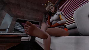 Mercy's Waiting by Kader117