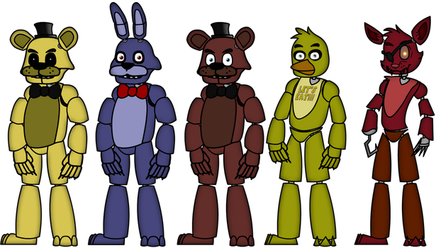 Five Nights at Freddy's Puppet Rigs by Soft-Bite