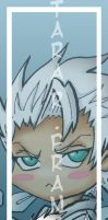 Toshiro Hitsugaya Bookmark by Otakuyume