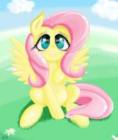 Fluttershy the Adorable by Falco9998
