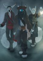 Pirates of the Midwest by NauroK