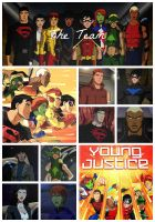 Young Justice - The Team by mysticgaze