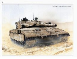 idf merkava mk 3 main battle tank by guy191184