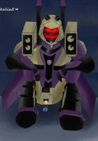 Blitzwing and me by Kalix5