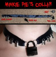Minkie Pie's Collar by Reitanna-Seishin