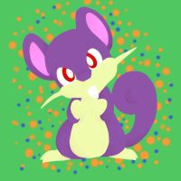 Rattata by NeoTheBean