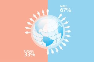 Human activity infographic by Lemongraphic
