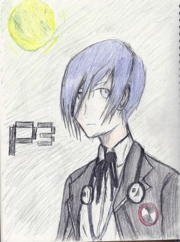 Persona 3 Male Protagonist by FuFuDrizzle