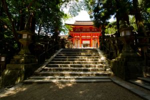Japanese Temples I by Koworu