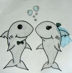 Sharks In Love - Wedding by ShellMinded