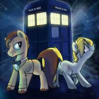 Doctor Whooves by professor-ponyarity