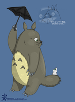 My Neighbor Totoro. by EnyaAdiemus
