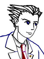 Ace Attorney Tegaki with MOUSE by fire-doused