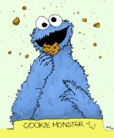 ::cookie monster:: by blackhorsewhispers