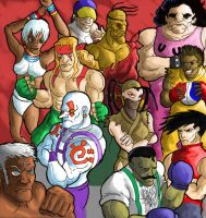 Street Fighter III by Phobos-Romulus