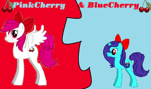 pinkcherry and bluecherry wp by tunouno