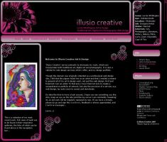 IllusioCreative Lay-out by LorrieWhittington