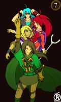 Golden Sun: The Pose Age (?) by revolverwingstudios