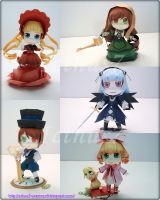 Rozen Maiden Chibi by enrique3