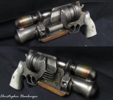 Star Wars Six Shooter by burgerstrings