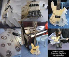 Custom, Home Made, Bass Guitar by Run-Asthma-Run