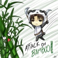 Attack on Bamboo -SnK by AllenWalkerLove