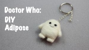Needle felted Adipose  Doctor Who(Video Tutorial) by PipariDesign