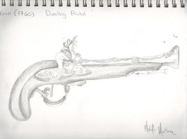 1760 Dueling Pistol by Miichie