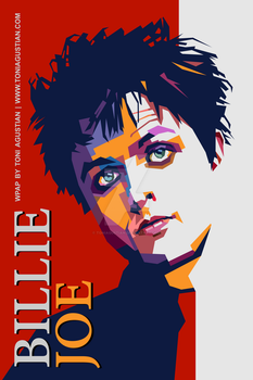 Billie Joe A1 Poster PNG no Bleeds med by toniagustian