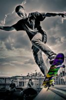 God of Skateboarding by FOTOFAUSTpunktDE