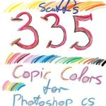335 Copic based colors PS CS4 by scuff13