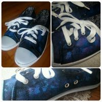 Galaxy Star Shoes by SimplyFlair