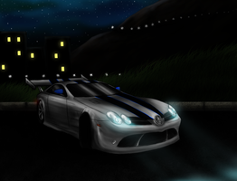 Mercedes-Benz SLR McLaren by N3K097