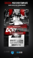 Don Diva Party Flyer Template by ImperialFlyers