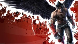 Tekken 6 wallpaper Devil Jin 2 by nin-er